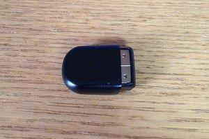 USBメモリ キャップをしたところ裏側