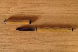 竹筆ペン本体 バラしたところ