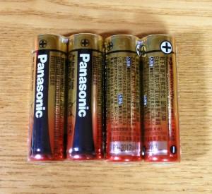 Panasonic の単3乾電池