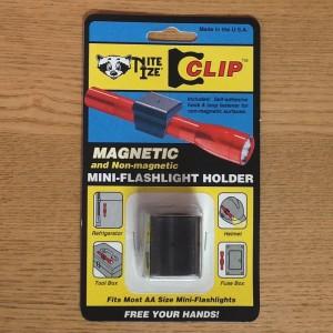 MAGNETIC MINI-FLASHLIGHT HOLDER