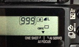 撮影可能枚数:999枚
